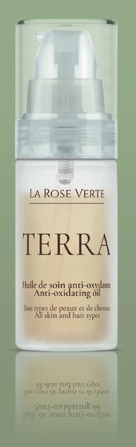 flacon rose verte